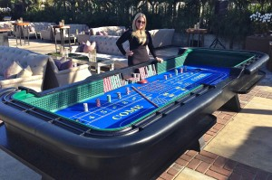 Full Size 15' Craps Table